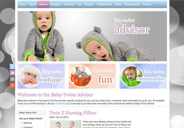 International Baby Twins website launched today
