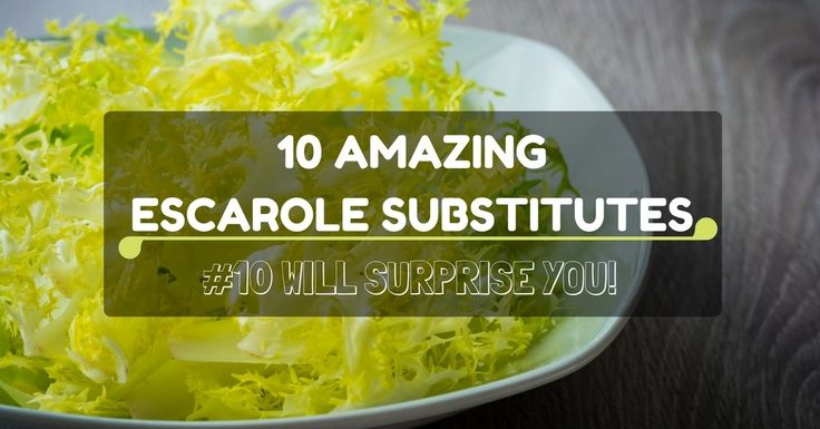 I'm writing this article if you're like me who's looking for an escarole substitute! Or if you are interested, keep on reading!