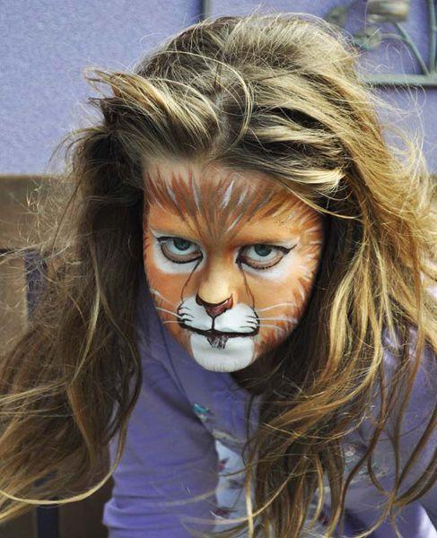 les 25 meilleures id es de la cat gorie maquillage lion sur pinterest maquillage de chat. Black Bedroom Furniture Sets. Home Design Ideas