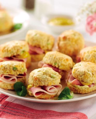 If our Team GB athlete Liam Phillips had the choice between sweet or savoury – he'd pick savoury. We suggest he tries these Savoury Scones… delicious!