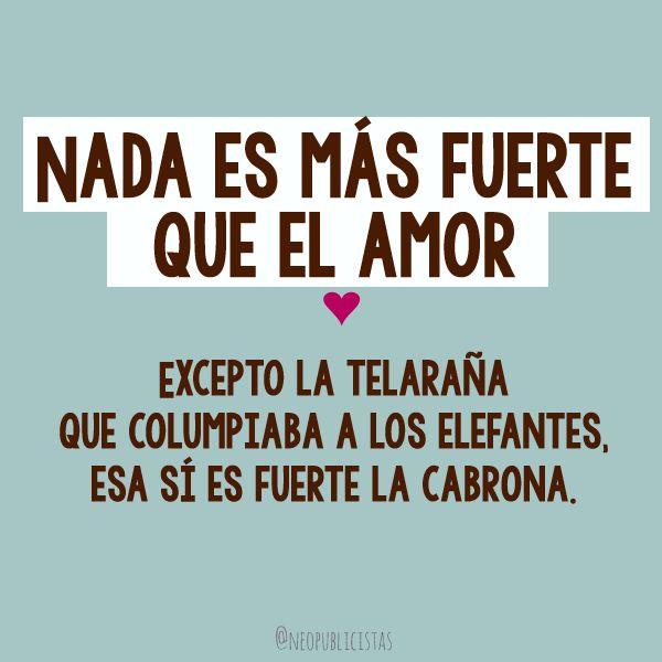 Siempre Fuertes te amo!! Love U Missy