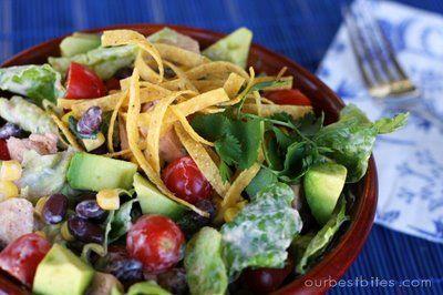 Chipotle Chicken Taco SaladChicken Chipotle, Recipe Cooking, Mr. Tacos, Cooking Recipe, Chipotle Chicken, Salad Delish, Taco Salads, Chipotle Salad, Chicken Tacos Salad