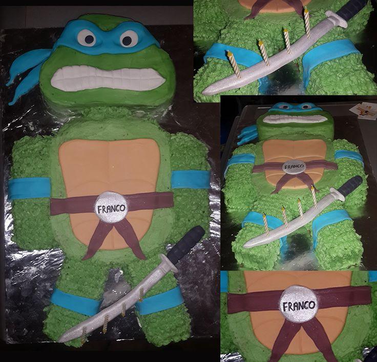 Ninja Turtle Cake Bloemfontein cakes and cupcakes For orders email SweetArtBfn@gmail.com or call Lola @ 0712127786