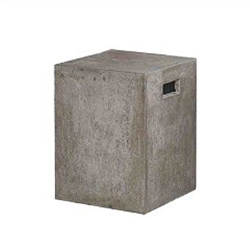 Doloma Concrete Outdoor Square Stool