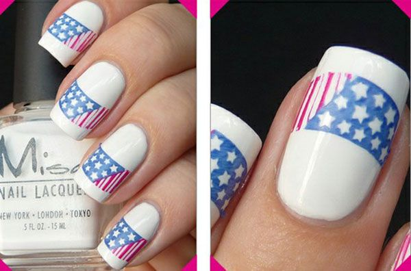 4th of July nail designs – I no longer acrylic nails. But thought there may be others that would like this.   akt.  Few Amazing Ideas