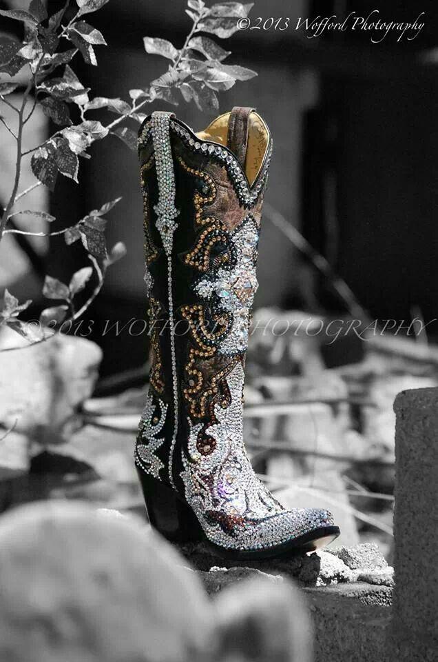 Jacqi bling swarovski cowgirl boots - Brooke Latka's fabulous boots!