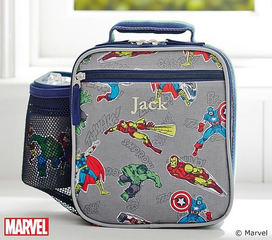 Marvel Lunch Boxes Kids Lunch Bags Boys Lunch Bags