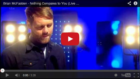 Watch: Brian McFadden - Nothing Compares to You See lyrics here: http://brianmcfaddenlyrics.blogspot.com/2014/02/nothing-compares-2-u-lyrics-brian.html #lyricsdome