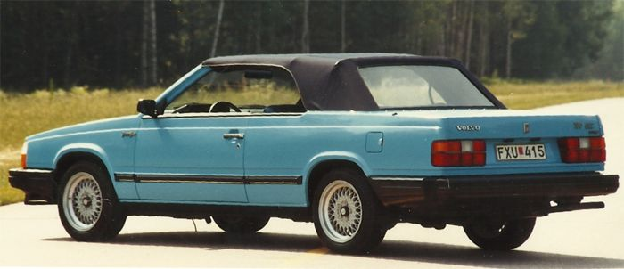 OG | 1985 Volvo 760 Cabriolet | One-off prototype created by Leif Mellberg and ordered by 'Teknikens Värld' magazine