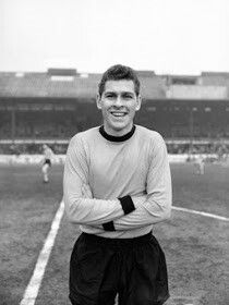 Ray Crawford of Wolves in 1963.