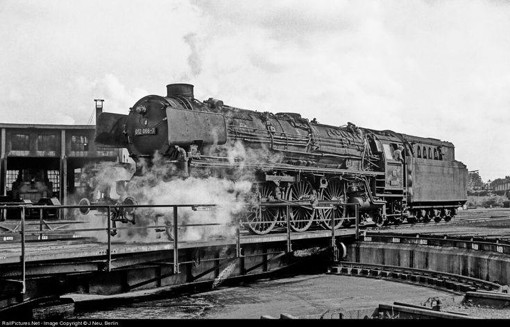 RailPictures.Net Photo: 012 066 Deutsche Bundesbahn Steam 4-6-2 at Rheine, Germany by J Neu, Berlin