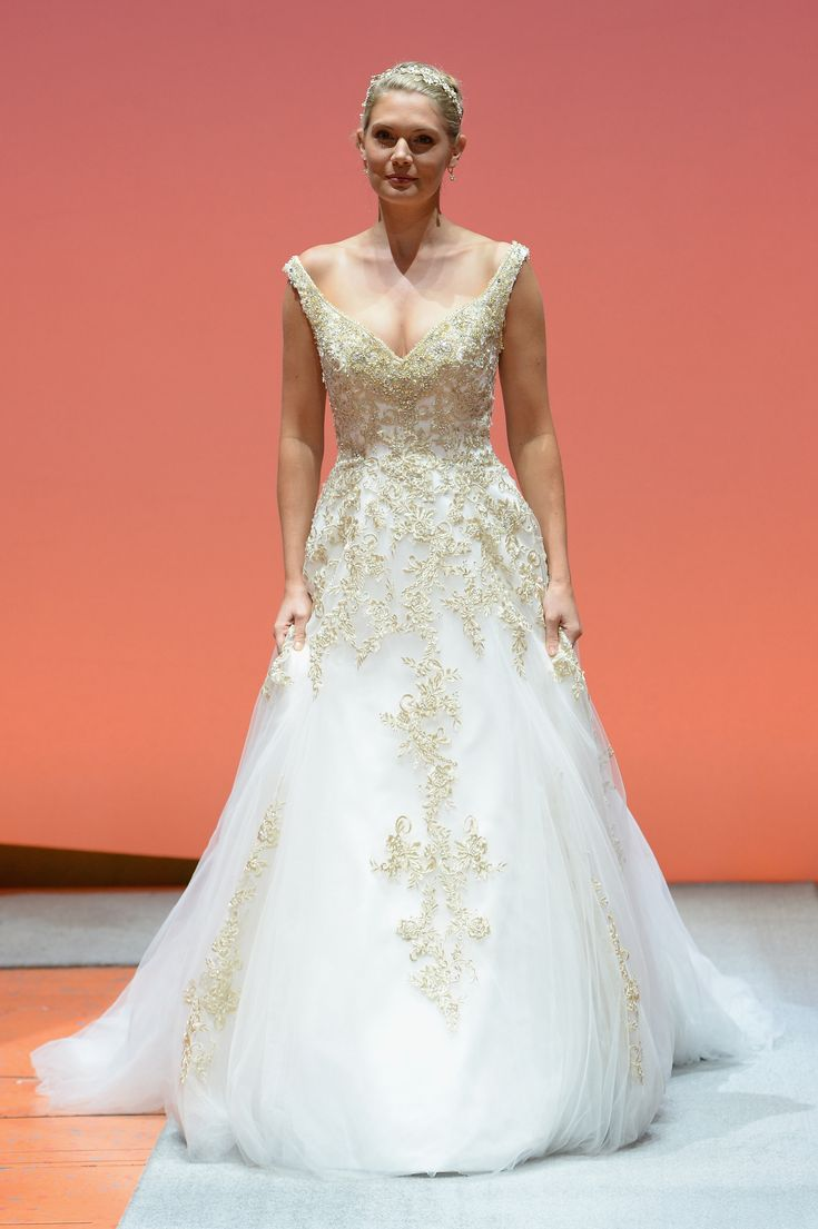 1560 best disney wedding images on pinterest disney weddings alfred angelo showcases 2016 disneys fairy tale weddings collection during nyc fashion week starring aladdin broadway star courtney reed ombrellifo Choice Image