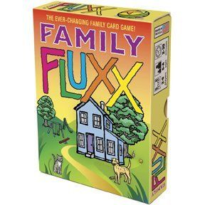 New Family Fluxx Easy Enough for Children Challenging for Adults Perfect Card Game Maximum Fun by LL8051. $21.99. Fluxx: the card game with ever changing rules!. Fluxx: the card game with ever changing rules! It starts out simple, with the rules being only to draw 1 card and play 1 card during each player's turn. But New Rule cards quickly make things chaotic, and even the object of the game will often change as you play. Family Fluxx is the slimmed-down, brighte...