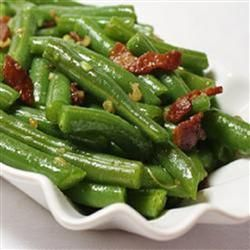 """Garlic Green Beans 