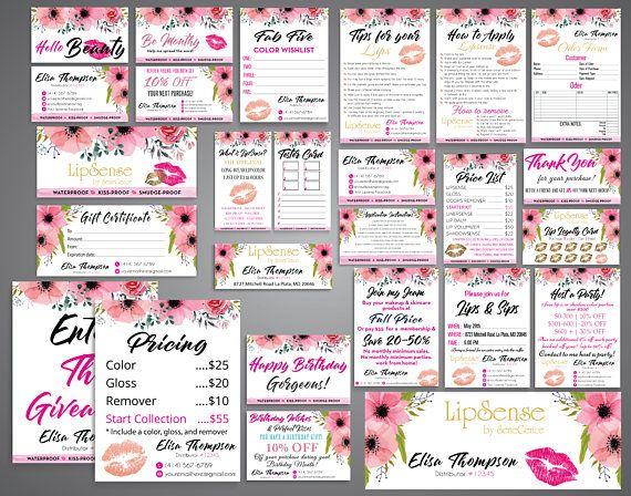 The 235 best Lipsense images on Pinterest Lipsense business cards - lipsense business card