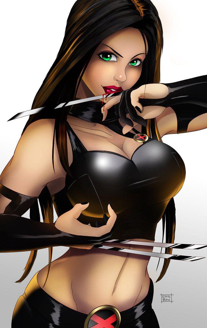 X-23 by Teban1983.deviantart.com on @DeviantArt - More at https://pinterest.com/supergirlsart #x23 #marvel #xmen #fanart