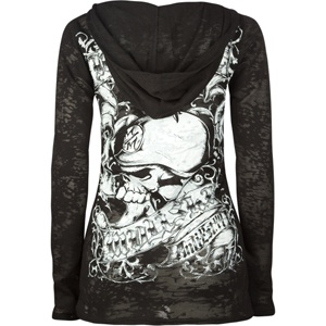 METAL MULISHA Proper Womens Hooded Thermal