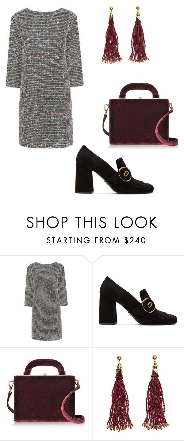 """""""Untitled #257"""" by denysa-boldog on Polyvore featuring Paul & Joe Sister, Prada, Bertoni and Nocturne"""