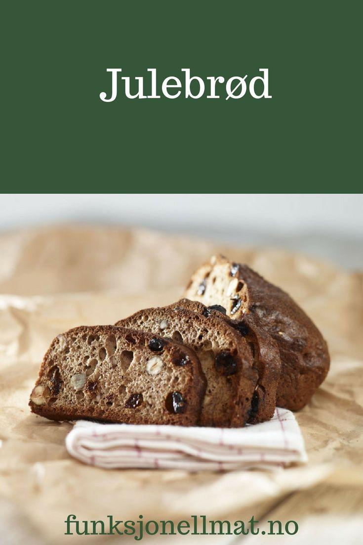 Julebrød - Funksjonell Mat | Hjemmebakt julebrød | Sunne juleoppskrifter | Bake til jul | Oppskrift til jul | Sukrin | Sukkerfri jul