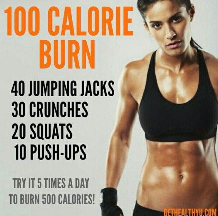 100 calorie burn!