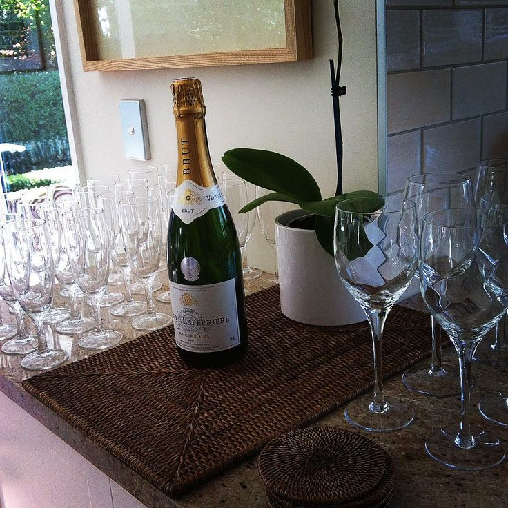 Delicious bubbles ready and waiting for guests to arrive for the launch if Etico. And what a great night it was!
