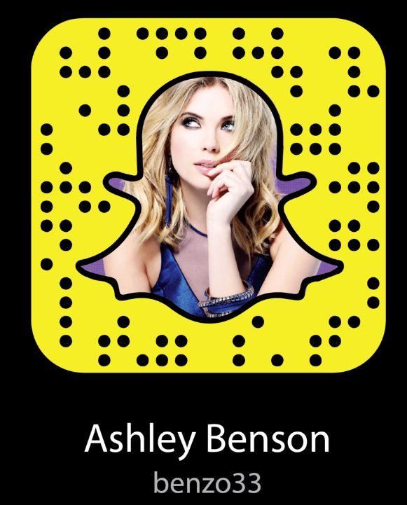 Ashley Benson Snapchat Username & Snapcode  #ashleybenson #snapchat http://gazettereview.com/2017/05/ashley-benson-snapchat-username-snapcode/