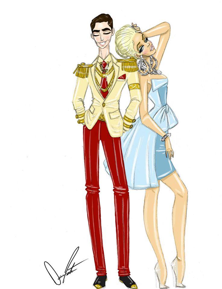 Disney Royals, Cinderella and Prince Charming by Daren J