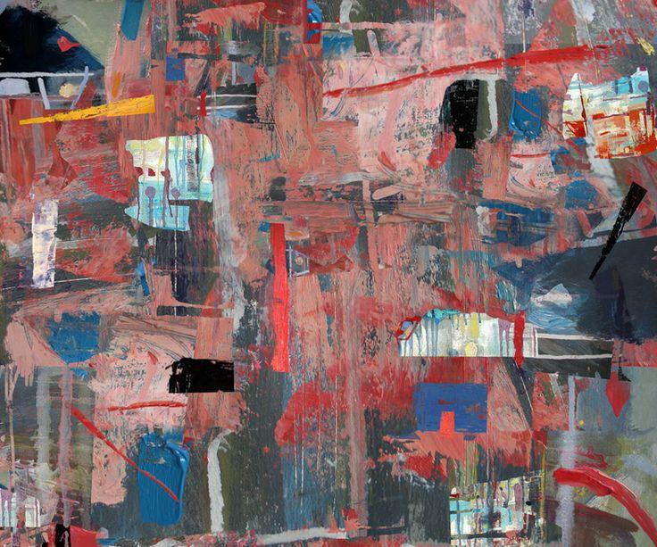 Abstrakcja Czerwona #graphic #art #digital #print