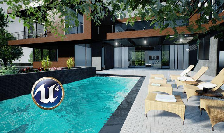 Speed 3D Interior Decorating - Revit to Unreal Engine 4