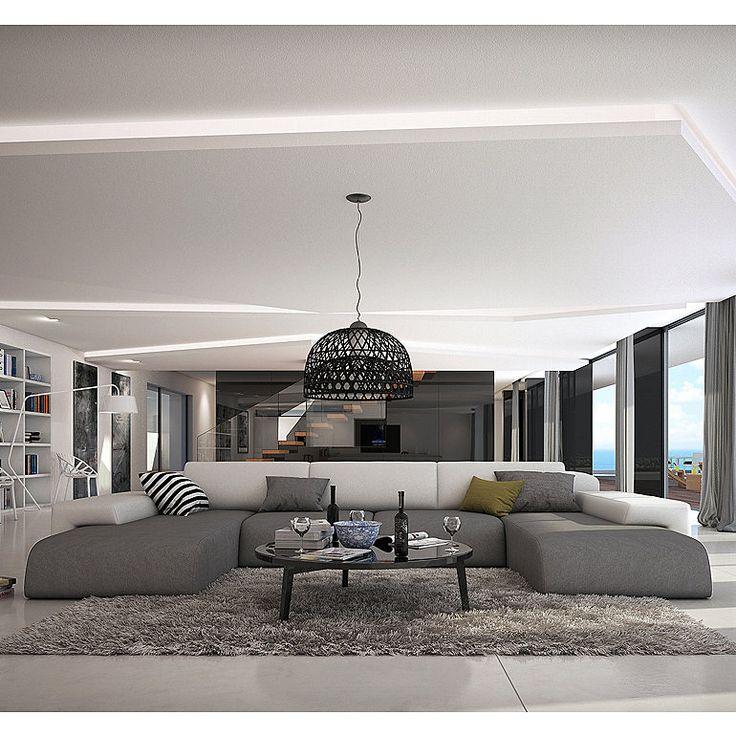 Die besten 25+ Gemütliche wohnzimmer Ideen auf Pinterest Chic - wohnzimmer modern schwarz weis