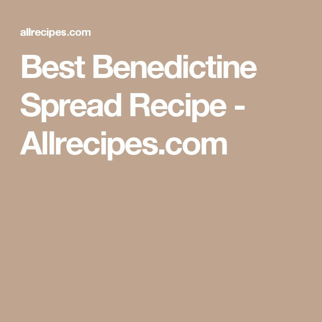 Best Benedictine Spread Recipe - Allrecipes.com