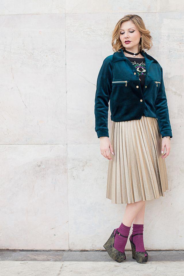 Velluto – Tendenza moda 2017/2018 – VELVET FASHION TREND