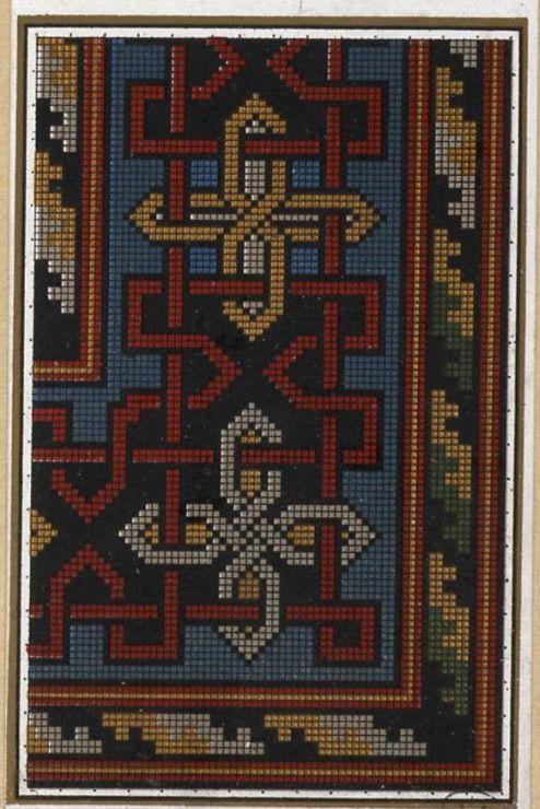 Gallery.ru / Фото #9 - старинные ковры и схемы для вышивки - SvetlanN