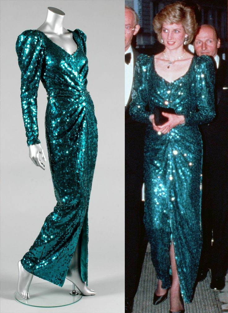 Fit for a Princess: Diana's dresses fetch £860k at auction - with Travolta dress…