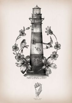 ghost lighthouse tattoo - Αναζήτηση Google
