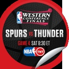 San Antonio Spurs vs. Oklahoma City Thunder #4