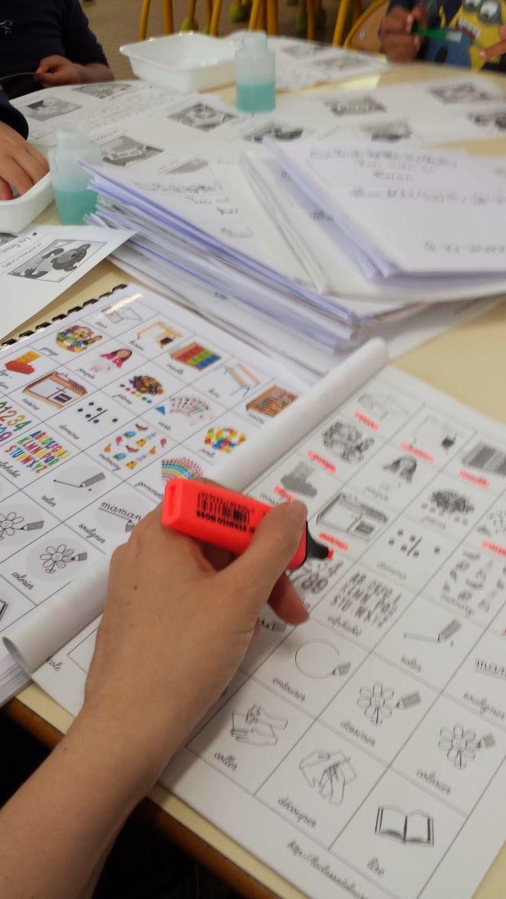 Langage à la maternelle - Le cahier de Vocabulaire