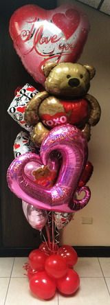 Fort Lauderdale FL. Valentines delivery,Lauderdale balloon delivery,Valenine's day delivery ,Broward balloon sale.