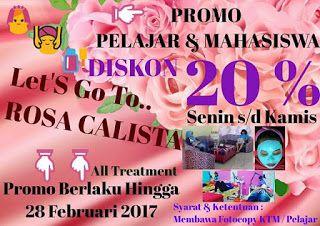 Klinik Kecantikan Rosa Calista | Salon | SPA | Akupunktur: LET'S GO TO ROSA CALISTA BANDAR LAMPUNG... !!!