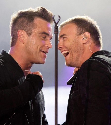 Robbie Williams Gary Barlow - My boys ♥