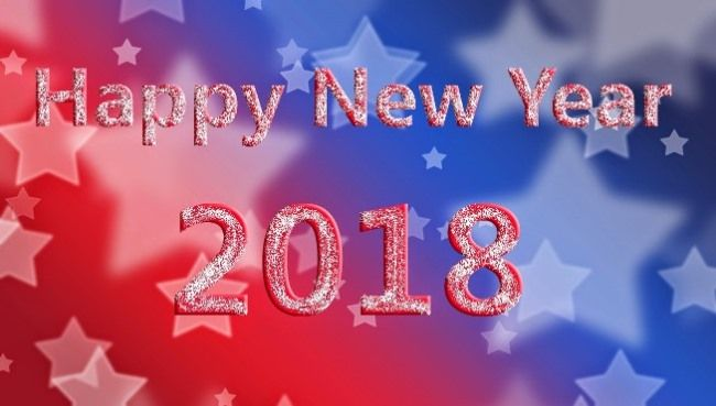 Happy New Year 2018 GIF Animation photos Download