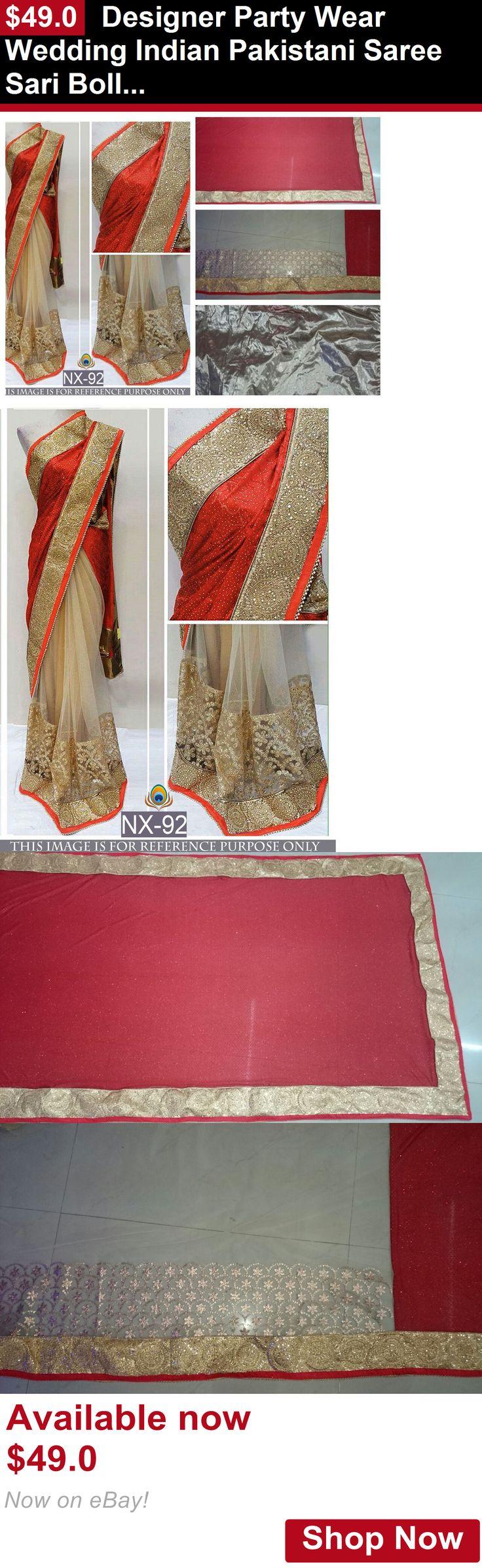 Cultural and ethnic clothing: Designer Party Wear Wedding Indian Pakistani Saree Sari Bollywood Ethnic Lehenga BUY IT NOW ONLY: $49.0