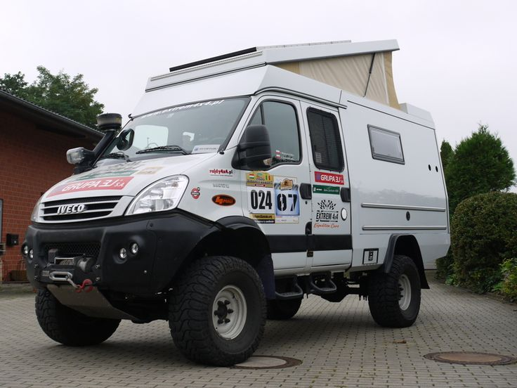 Camper 4x4 iveco daily
