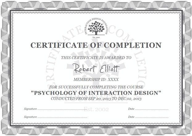 UX Courses from the Interaction Design Foundation