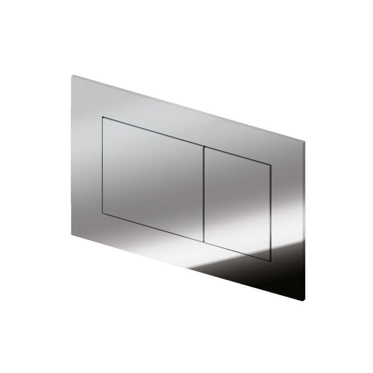 tece now wc bet tigungsplatte f r zweimengentechnik chrom. Black Bedroom Furniture Sets. Home Design Ideas