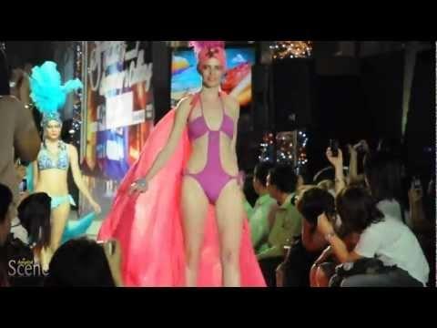 Swimwear by Lingerie Salon @ Siam Paragon, Bangkok. Movie by Paul Hutton, Bangkok Scene.