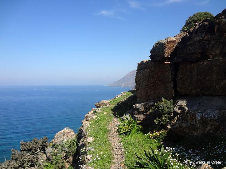 coastal path #northwest #Crete - another great trail #mywalksincrete