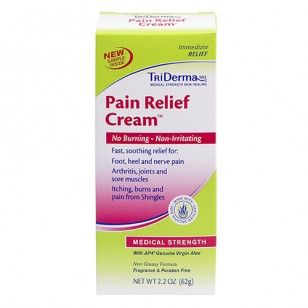 Pain Relief Cream, Shingles Cream, Neuropathy Cream | TriDerma