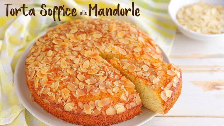 Torta soffice alle mandorle ricetta facile fatto in casa for Torta di mele e yogurt fatto in casa da benedetta