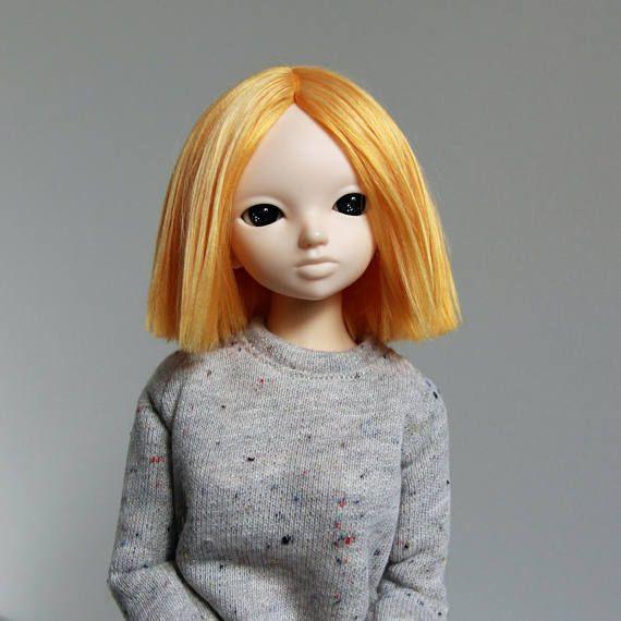 Minifee fairyland mnf wig orange redhead no bang short